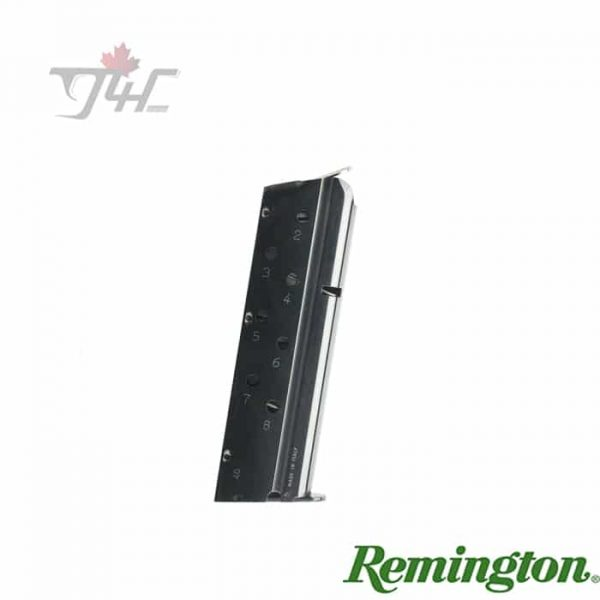 Remington-1911-.40SW-8rd-Magazine-EXT-Base-Stainless-Steel