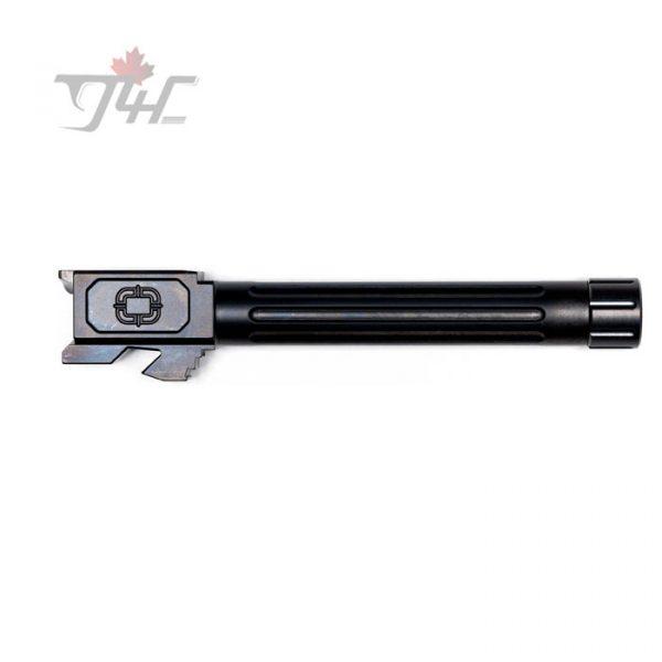 Shadow Systems Glock 17 Gen3/4 Fluted Black DLC Threaded Match Barrel