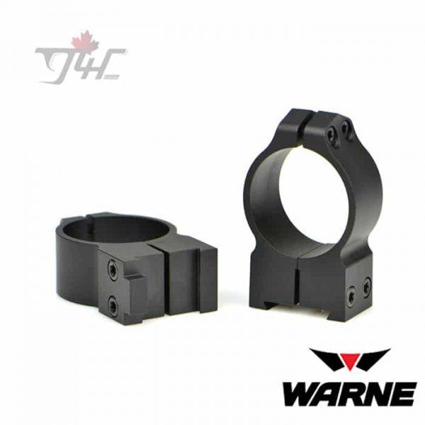 Warne-1BM-1-inch-Tube-CZ-550-Maxima-Fixed-Medium-Matte-Rings