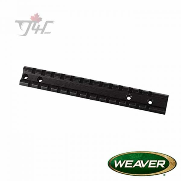 Weaver-48347-Multi-Slot-Base-for-Savage-Axis-Matte-Black