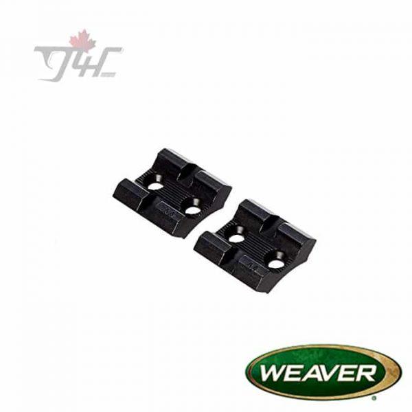 Weaver-48470-Top-Mount-Base-Pair-for-Browning-Bar-Matte-Black