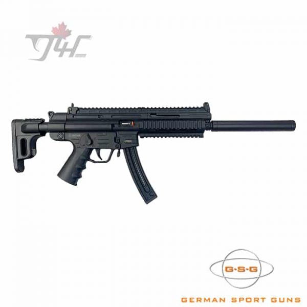 "German Sport GSG-16 .22LR 16.25"" BRL Black"