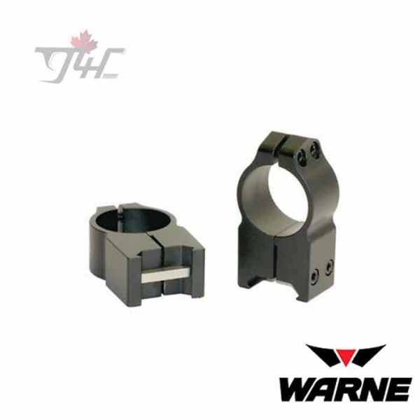 "Warne 202M 1"" Tube Maxima Fixed High Matte Rings"
