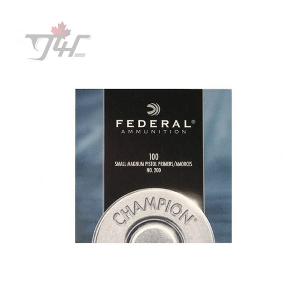 Federal No.200 Small Magnum Pistol Primers 1000pack