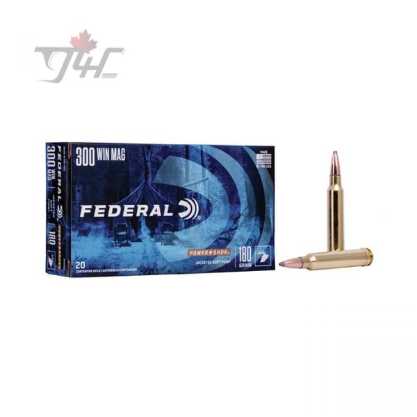 Federal Power-Shok .300 WIN-MAG 180gr. SP 20rds