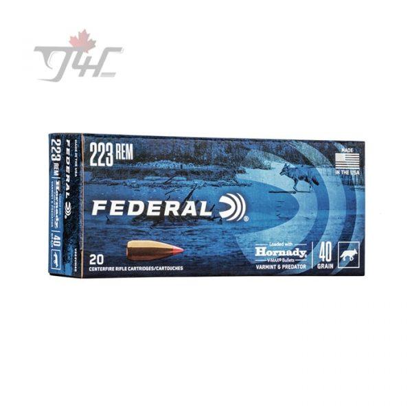 Federal Varmint & Predator .223REM 40gr. V-Max 20rds