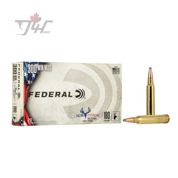 Federal Non-Typical Whitetail .300WIN-MAG 180gr. SP 20rds
