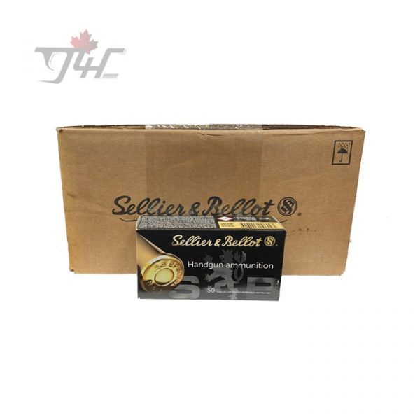 Sellier & Bellot .38Special 158gr. FMJ 500rds