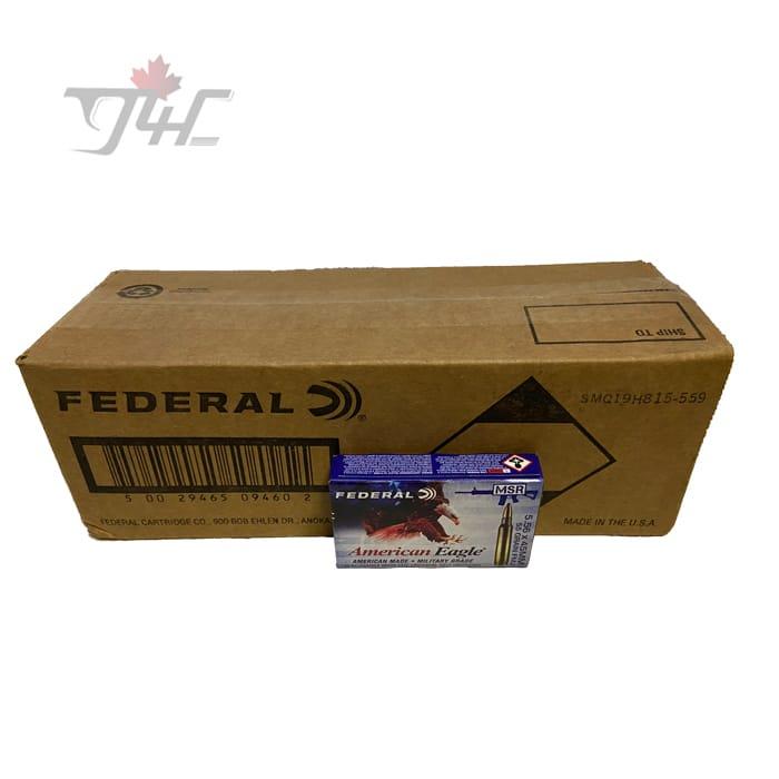 Fed. American Eagle 5.56x45mm MSR 55gr. FMJ 500rds