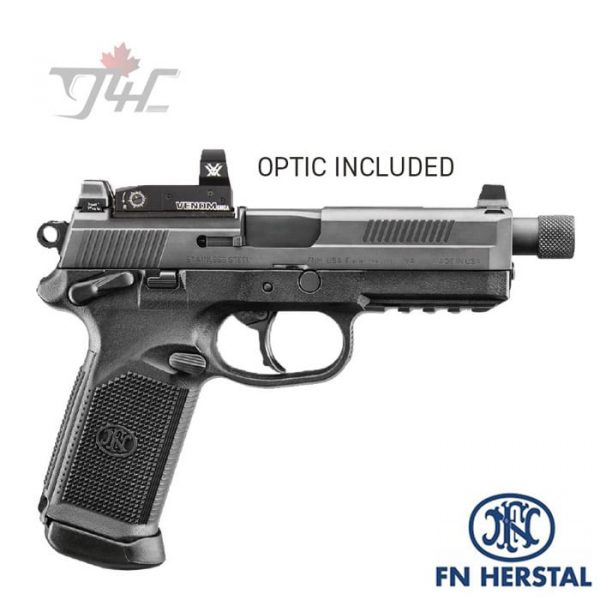 FN-FNX-45-Tactical-with-Vortex-Venom-.45ACP-5.3-inch-BRL-Black