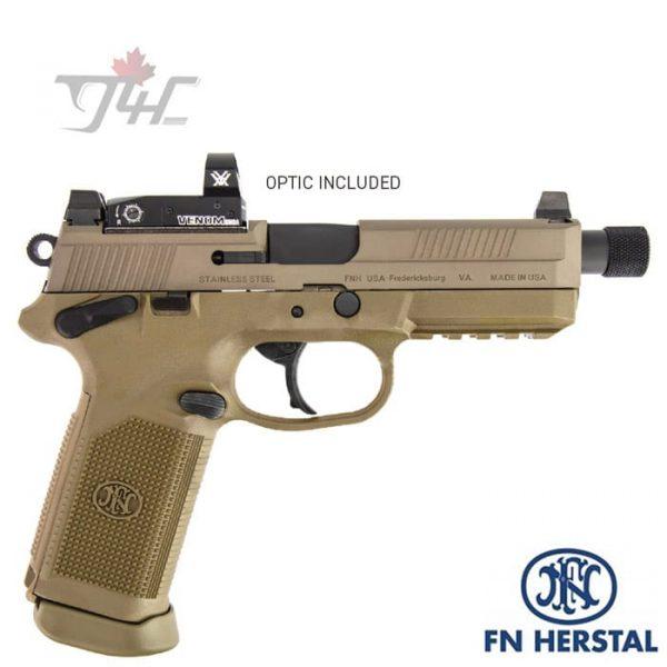 FN-FNX-45-Tactical-with-Vortex-Venom-.45ACP-5.3-inch-BRL-FDE