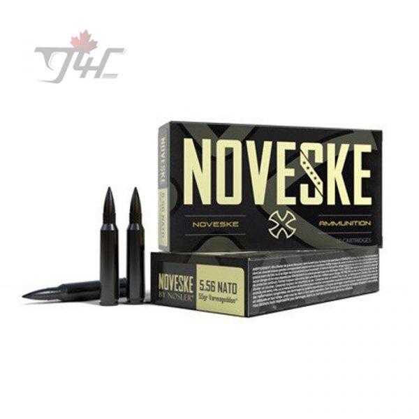 Nosler 52201 Noveske 5.56x45mm 55gr. Varmageddon FB Tipped 20rds