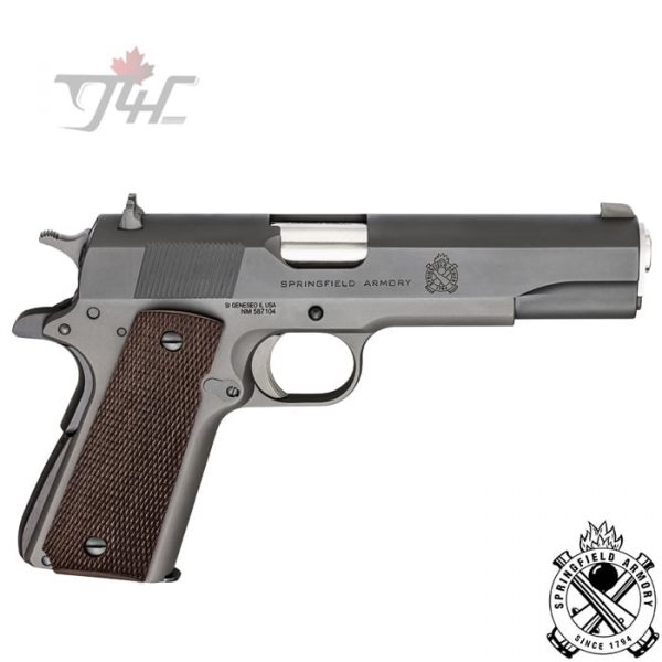 Springfield-Armory-1911-Defender-Mil-Spec-.45ACP-5-inch-Parkerized-Black