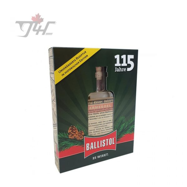 Ballistol Gun Oil 115 Year Anniversary Glass Bottle 100ml