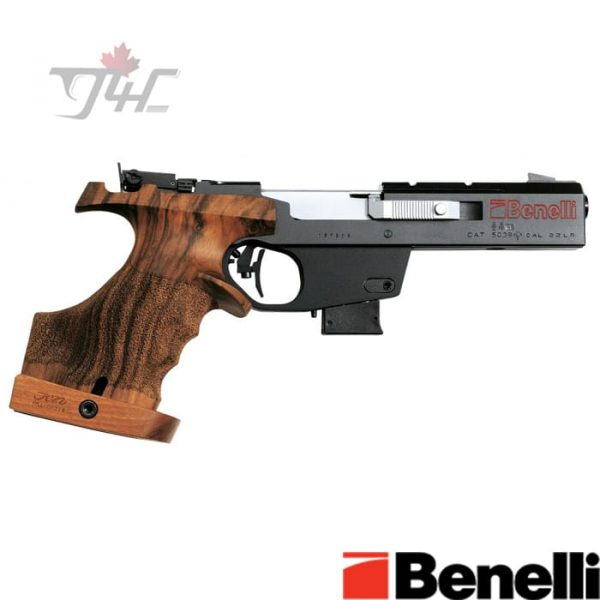 Benelli-MP90S-World-Cup-.32-SW-Long-4.5-inch-Black-and-Wood