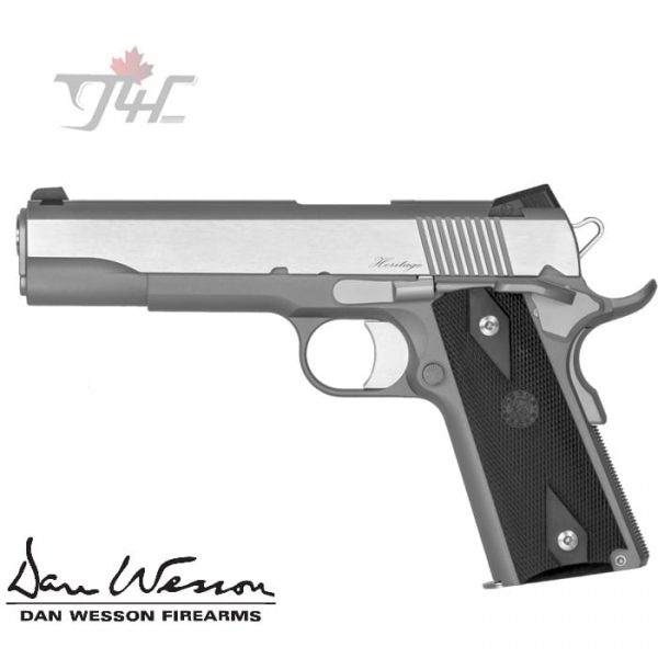 Dan-Wesson-Heritage-RZ-45-.45ACP-5-inch-STS