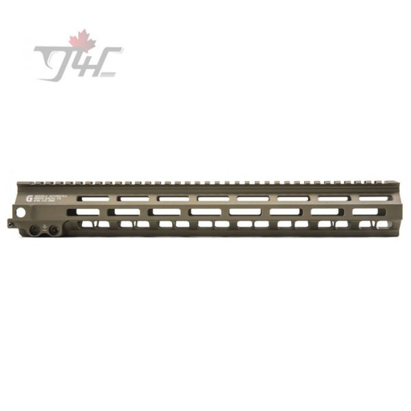 "Geissele Super Modular Rail MK8 M-LOK Handguard 15"" DDC"