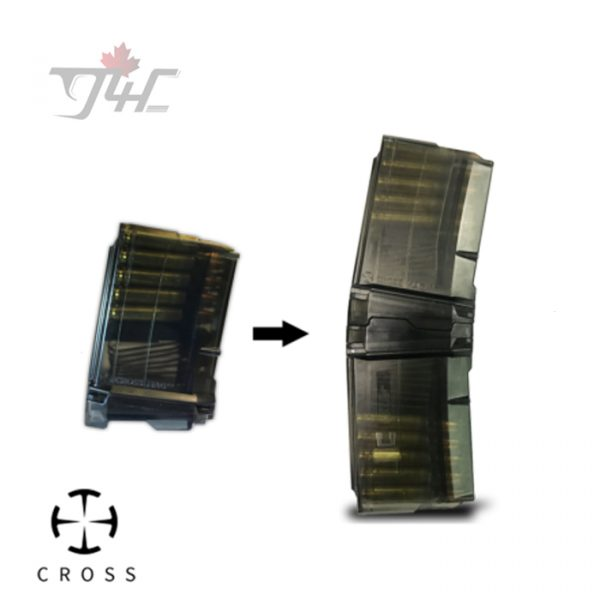 Cross AR15 5.56NATO 10/10 Coupling Pistol Magazine