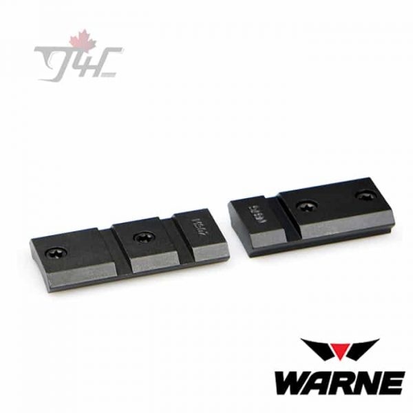 Warne M902/876M Maxima 2 Piece Steel Bases