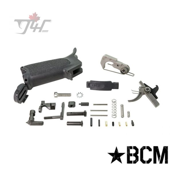 BCM Gunfighter AR-15 Enhanced Lower Parts Kit Black