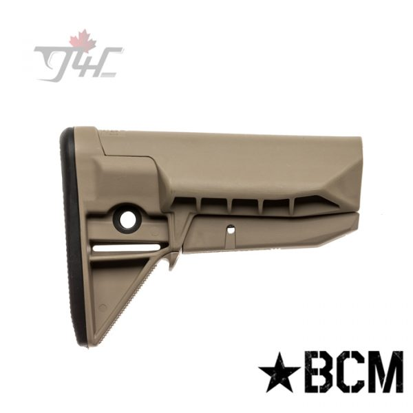 BCM Gunfighter SOPMOD Stock Assembly Mod 0 FDE