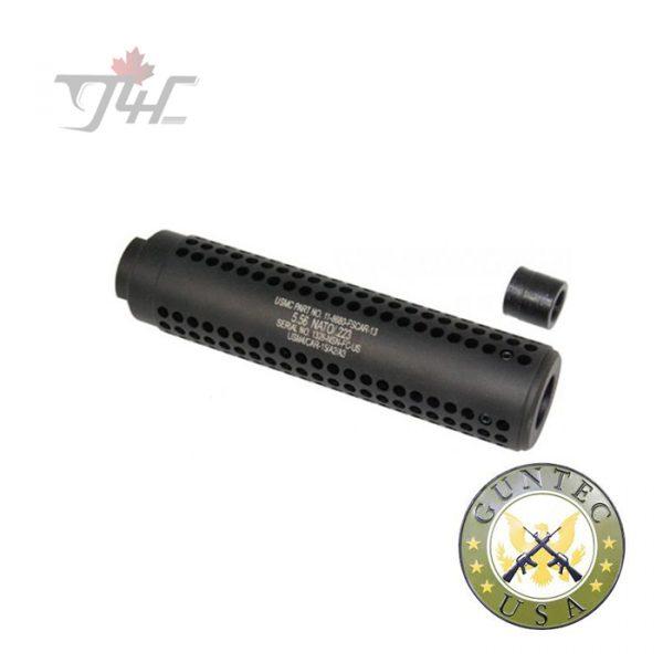Guntec AR-15 Reverse Thread Slip Over Socom Style Fake Suppressor