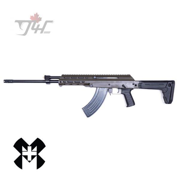 """M+M M10X-Z DMR 7.62x39mm 18.6"""" BRL OD Green"""