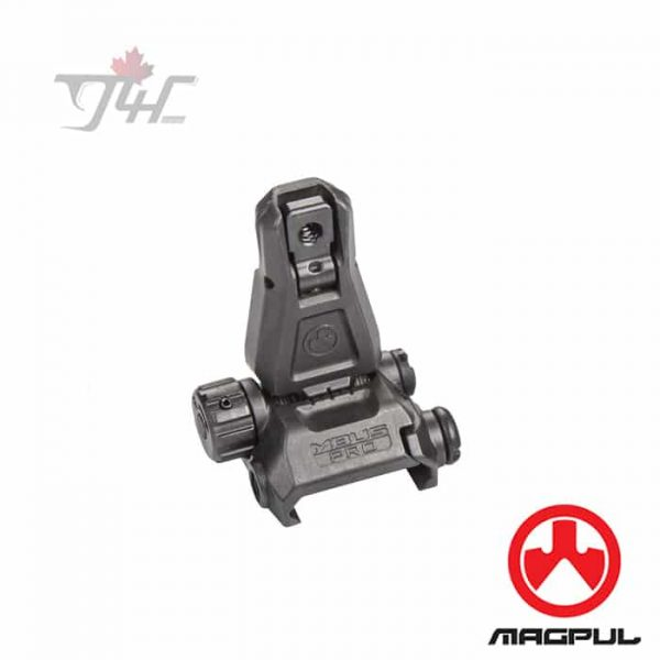 Magpul-MBUS-Pro-Rear-Sight-Black