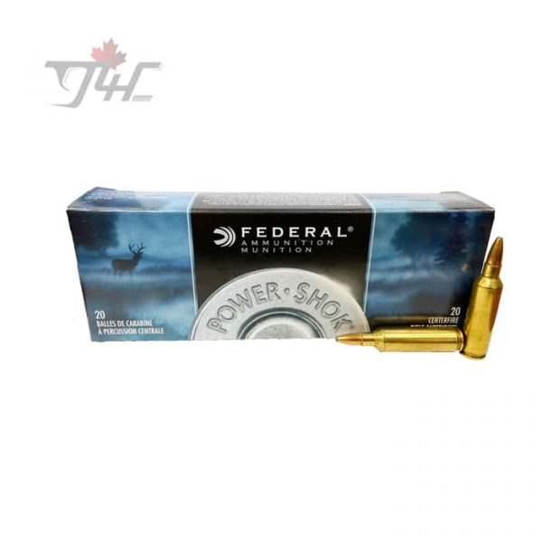 Federal Power-Shok .270WIN 130gr. Soft Point 20rds