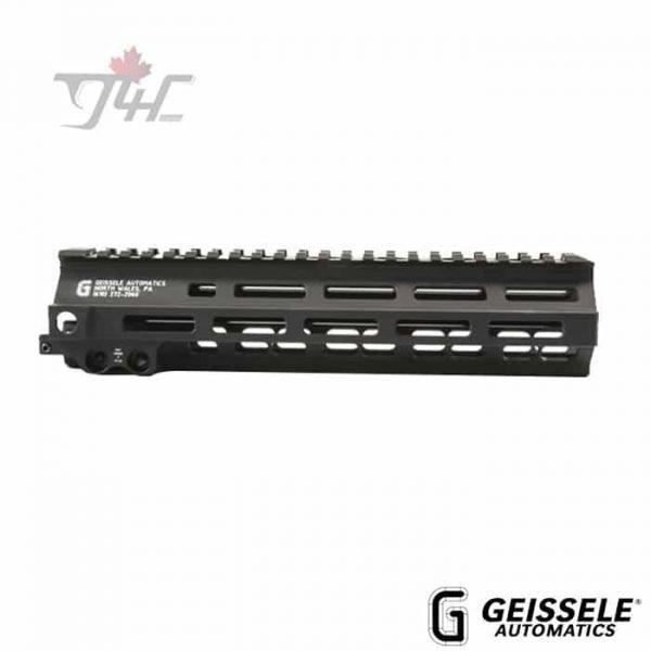 "Geissele Super Modular Rail MK8 M-LOK Handguard 9.5"" Black"