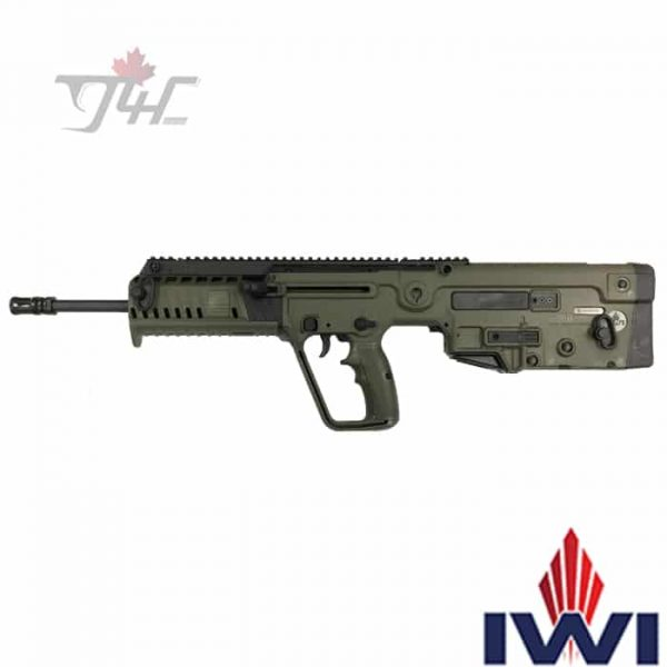 IWI-Tavor-X95-9mm-18.6-inch-BRL-OD-Green-new