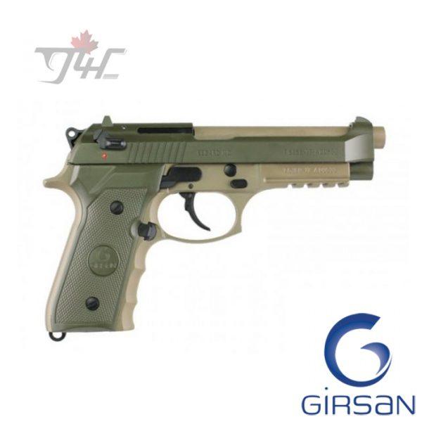 "Girsan Regard MC 9mm 4.9"" BRL Military Green"