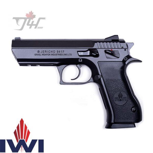 "IWI Jericho 941F 9mm 4.4"" BRL Black"