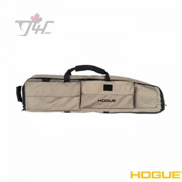 "Hogue 59473 Large Double Rifle Bag w/ Front Pocket & Handles 46"" FDE"