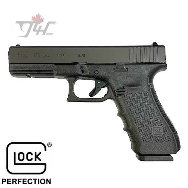 "Glock 17C Gen4 9mm 4.5"" BRL Black"