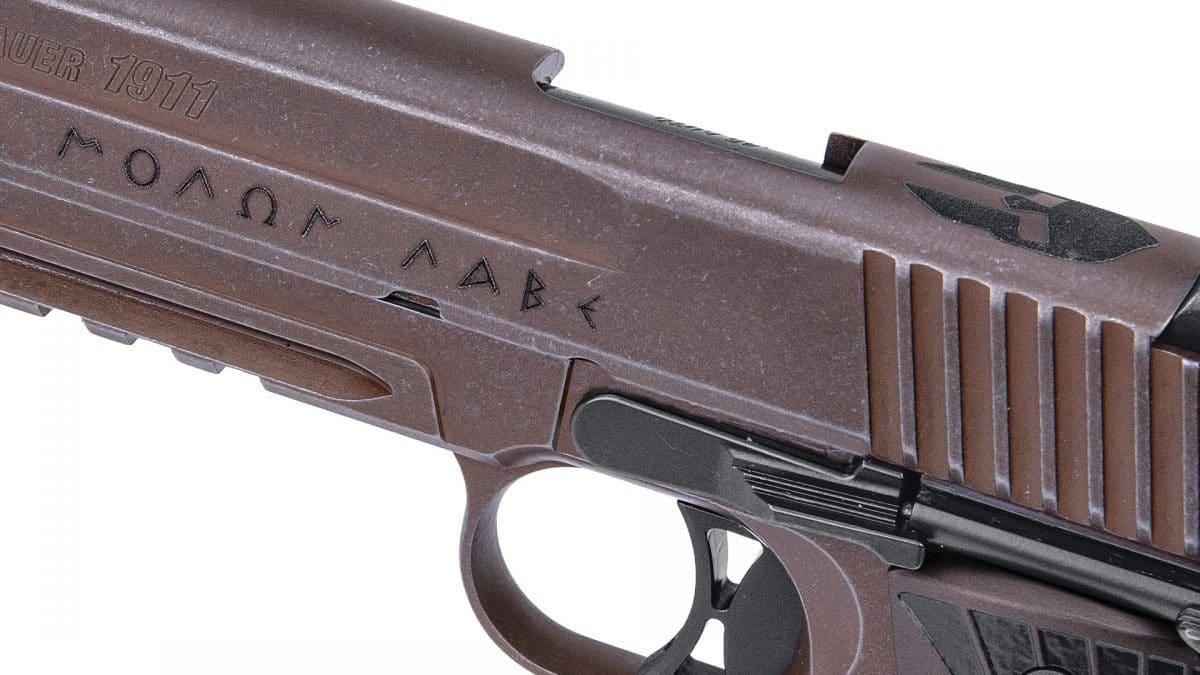 """Sig Sauer 1911 SpartanII .45ACP 4.2"""" BRL"""
