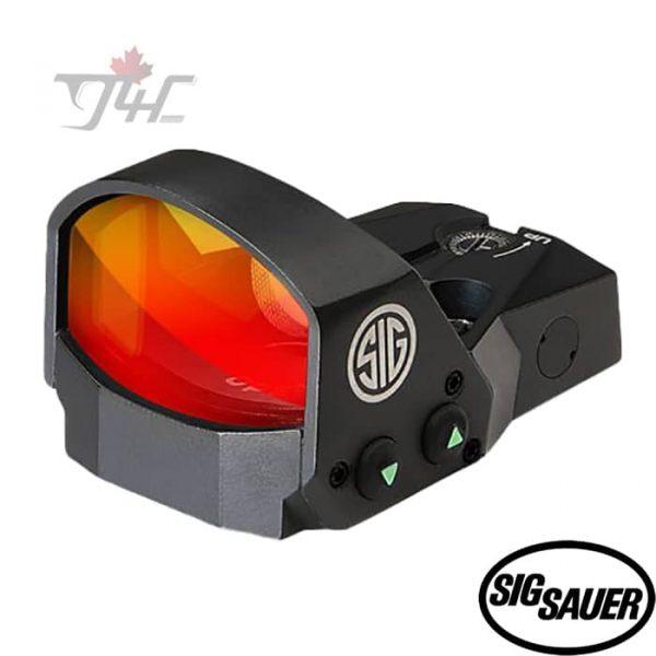 Sig Sauer ROMEO1 Reflex 1X30mm 3 MOA Red Dot 1.0 MOA Adj Sight Black