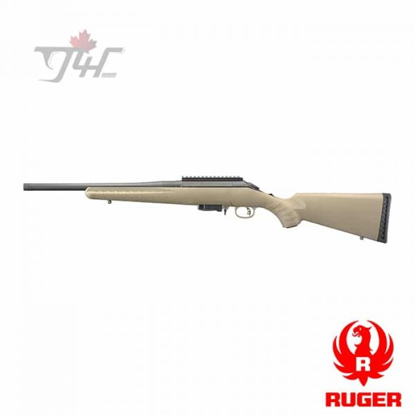 """Ruger American Ranch Rifle 7.62x39mm 16.12"""" BRL FDE"""