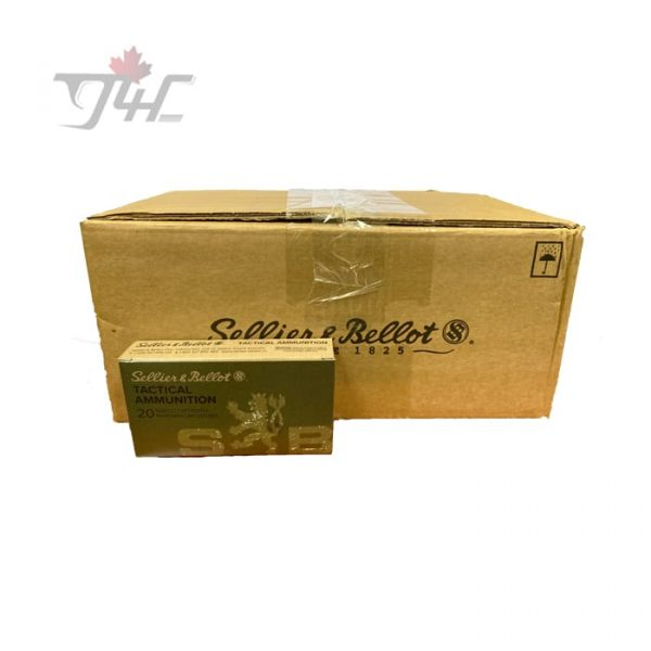 Sellier & Bellot 6.5Creedmoor 140gr. FMJ 200rds