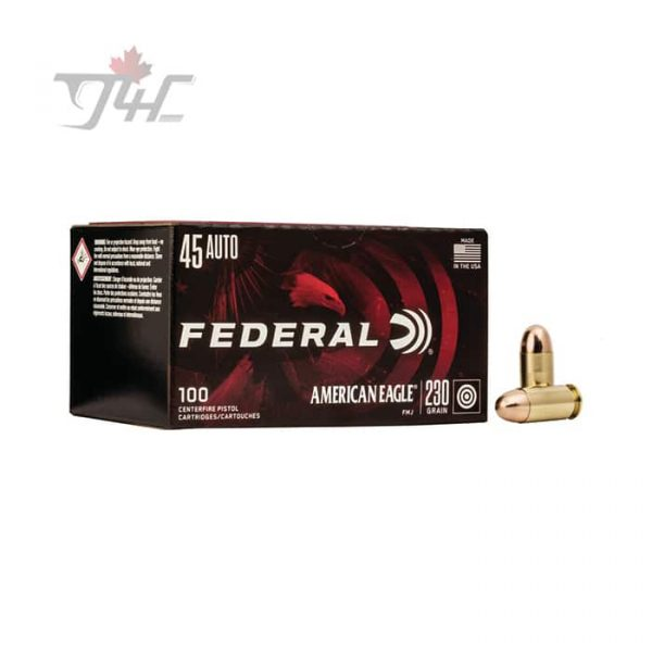 Fed. American Eagle .45Auto 230gr. FMJ 500rds