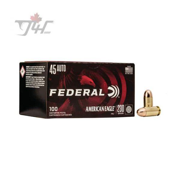 Fed. American Eagle .45Auto 230gr. FMJ 500rds