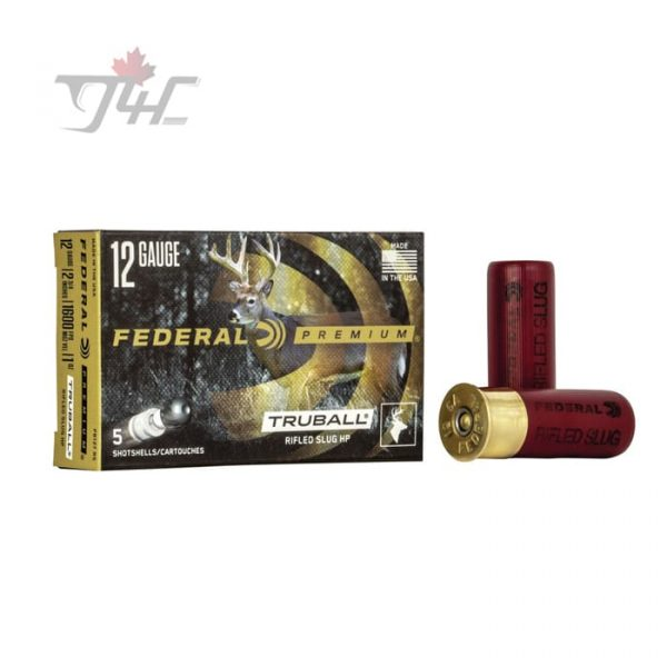 Federal TruBall Rifled Slug 12Gauge 2-3/4inch 5rds
