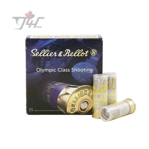 Sellier & Bellot Special Sport Slug 12Gauge 2-3/4inch 1oz 25rds