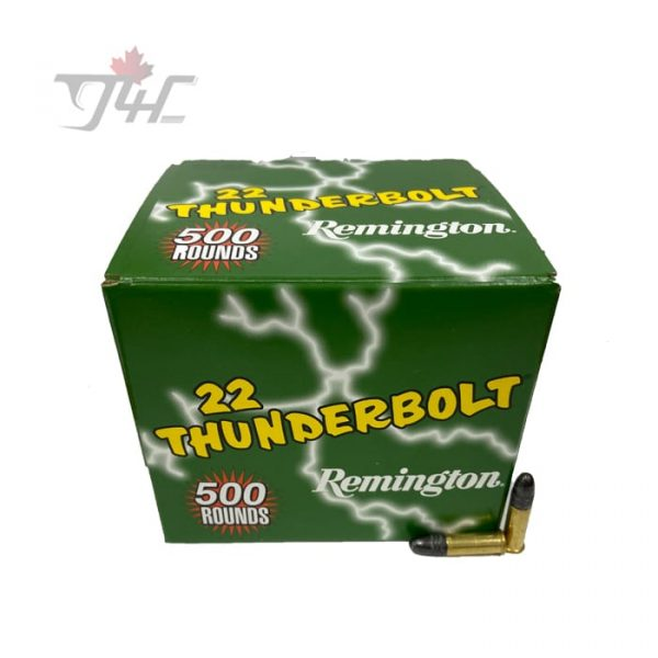 Remington Thunderbolt .22LR 40gr. LRN 500rds
