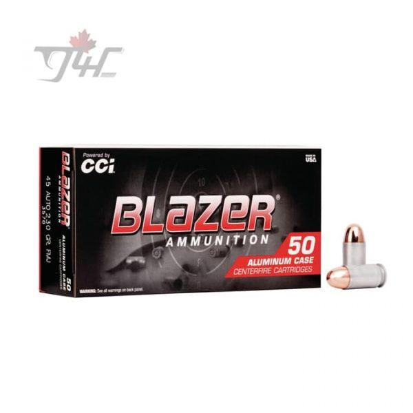 CCI Blazer .45ACP 230gr. FMJ 1000rds