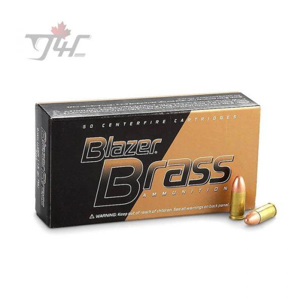 CCI Blazer-Brass 9mm Luger 115gr. FMJ 1000rds