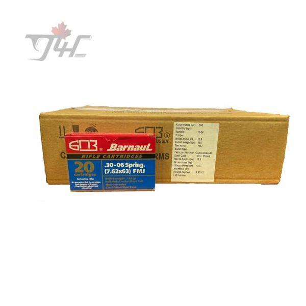 Barnaul 30-06SPRG 168gr FMJ 300rds