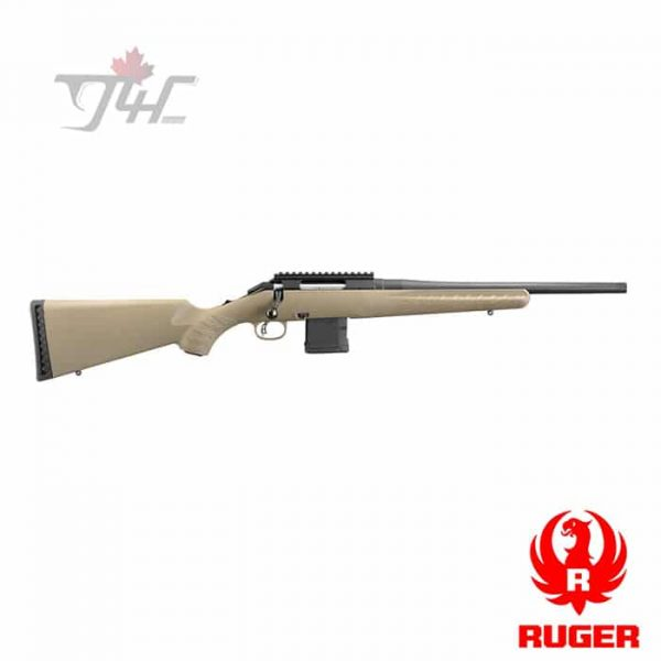 """Ruger American Ranch Rifle 5.56NATO 16"""" BRL FDE"""