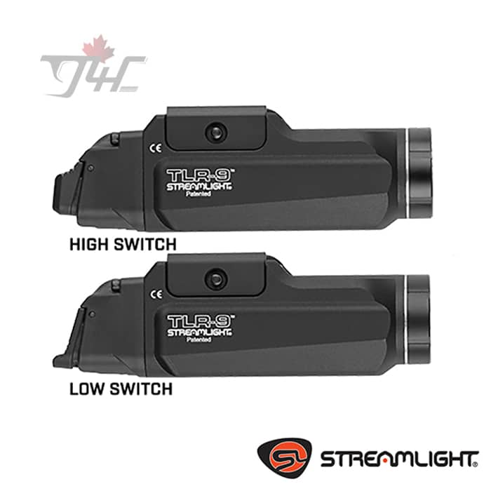 Streamlight TLR-9 Rail Mount Tactical Light 1000 Lumens