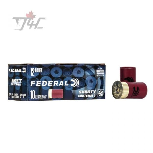 Federal Shorty Shotshells 12Gauge 1-3/4inch 15/16oz. #8 Shot 10rds
